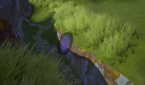 Grass along the River
