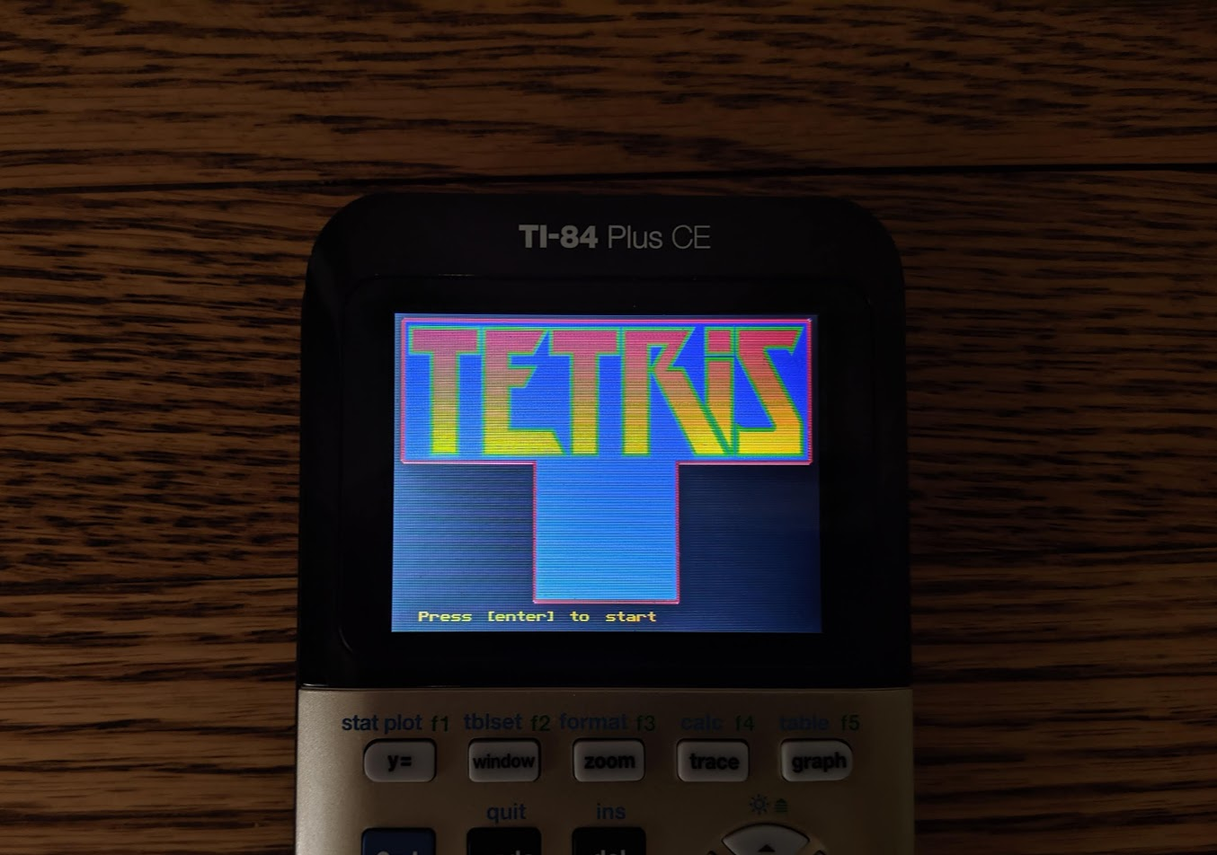 Tetris for the TI84 Plus CE