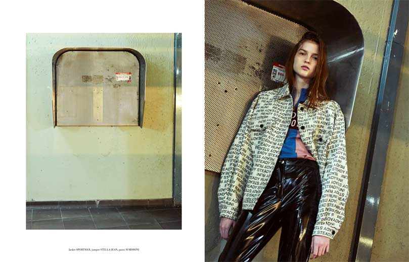 Elisabetta Cavatorta Stylist - Gas station - Federico Sorrentino - Mia Le Journal