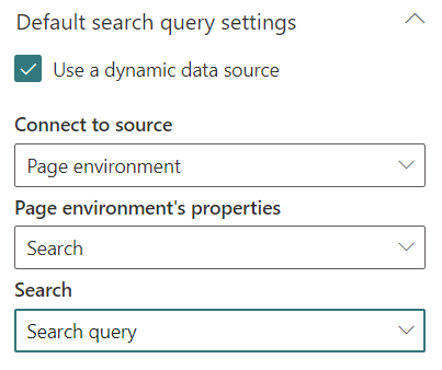 Search Box web part configuration
