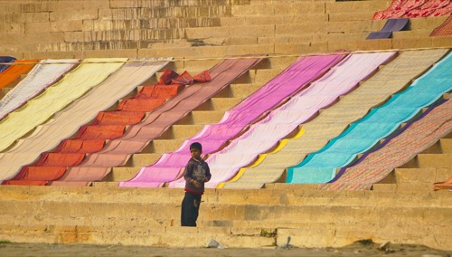 The Kite Flier of Benaras