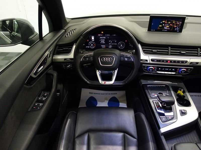 Audi Q7 3.0 TDI e-tron 374pk Quattro Sport S-line- Pano, Bose, Virtual Cockpit, Leer,  Full! afbeelding 4