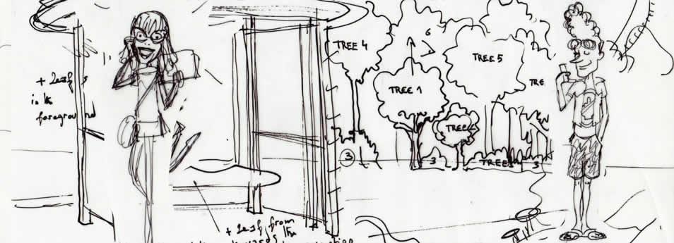 Storyboard schema - Ello - Sumatra project 04