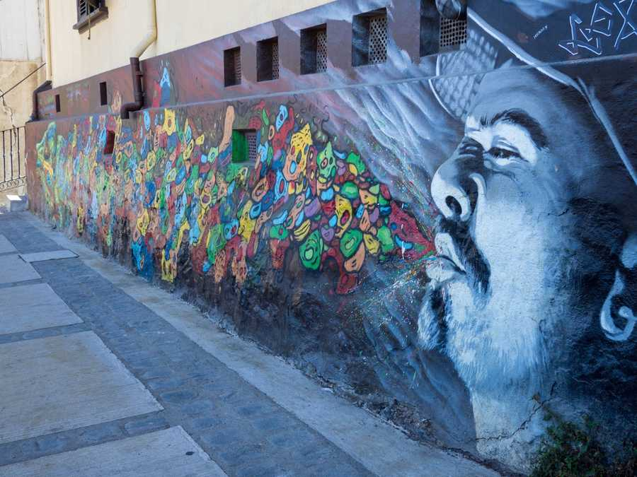 Famous painted walls