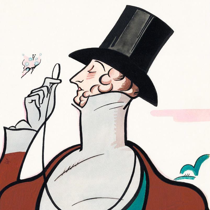 Фрагмент обложки журнала The New Yorker от22февраля 1936года