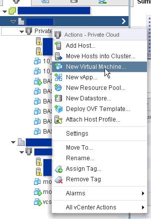 VMware ESXi 6.0 as nested virtual machine - Create New Virtual Machine