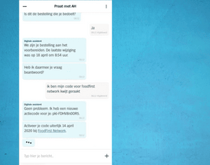 Albert Heijn's digital assistant provides fast answers to customer questions