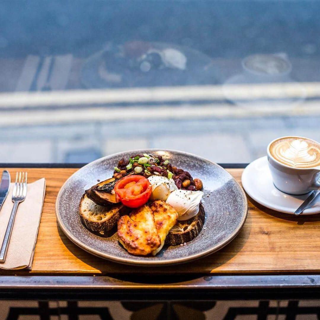 Laynes Espresso Full English Breakfast and Coffee