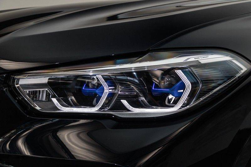 "BMW X5 M40i xDrive 340pk Panoramadak VirtualCockpit ShadowLine Sportleder+Memory Head-Up Hifi Luchtvering ACC Laserlicht AmbientLight Keyless Sportuitlaat 22"" 360Camera ParkAssist Pdc afbeelding 15"