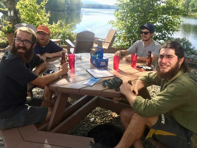 Scout, Single T, Boomer and Jason