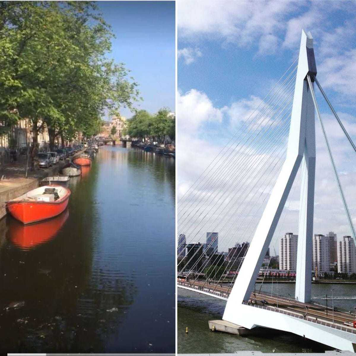 If you had the chance to come to The Netherlands or talk to people who live in Amsterdam and Rotterdam, you already know there is a kind of competition between this two cities. But how different are they? Which one is better?