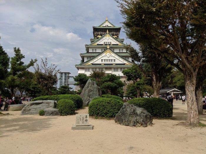 Views of Osaka Castle