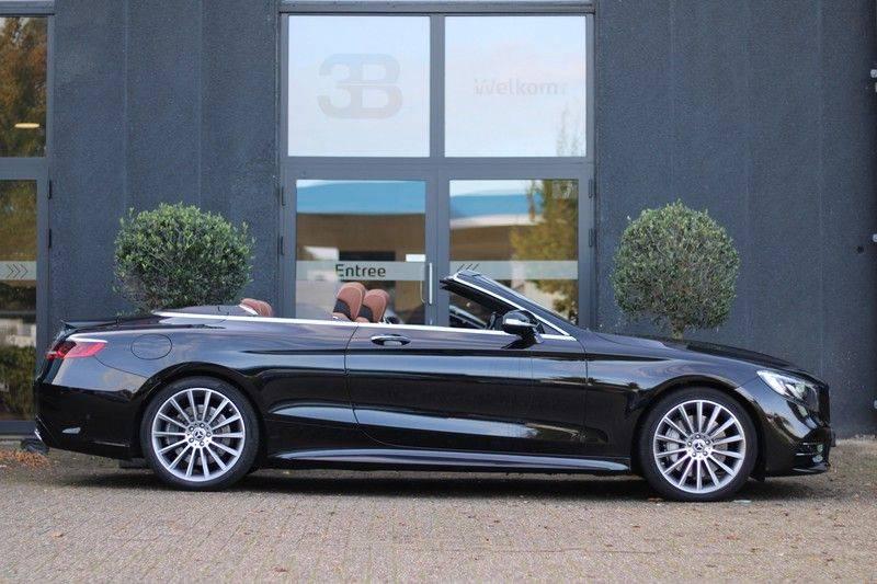 Mercedes-Benz S-Klasse Cabrio 560 Premium Plus AMG-pakket, Burmester, 360 camera, Alcantara hemel, Stoelkoeling afbeelding 4