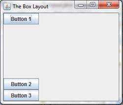 Vertically-glued box layout