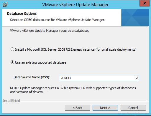 VMware vSphere Update Manager - Installation 5
