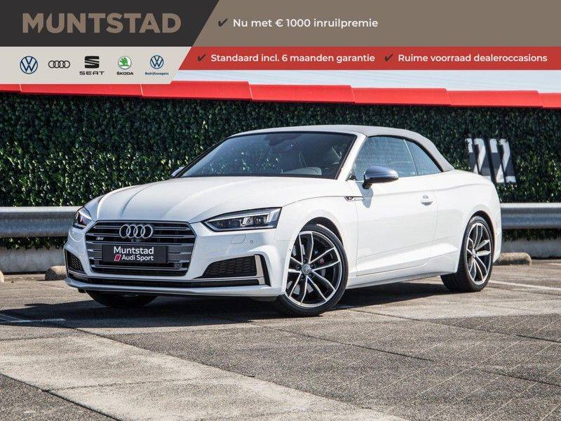 Audi S5 Cabriolet 3.0 TFSI S5 quattro | 354 PK | S-Line | B&O Sound | Assistentie City-Parking | S-Sportstoelen | Virtual Cockpit | Keyless-entry | Massage-Stoelen | afbeelding 1