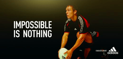 Impossible is nothing NIke