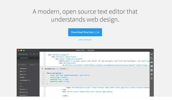 brackets-best-code-editor