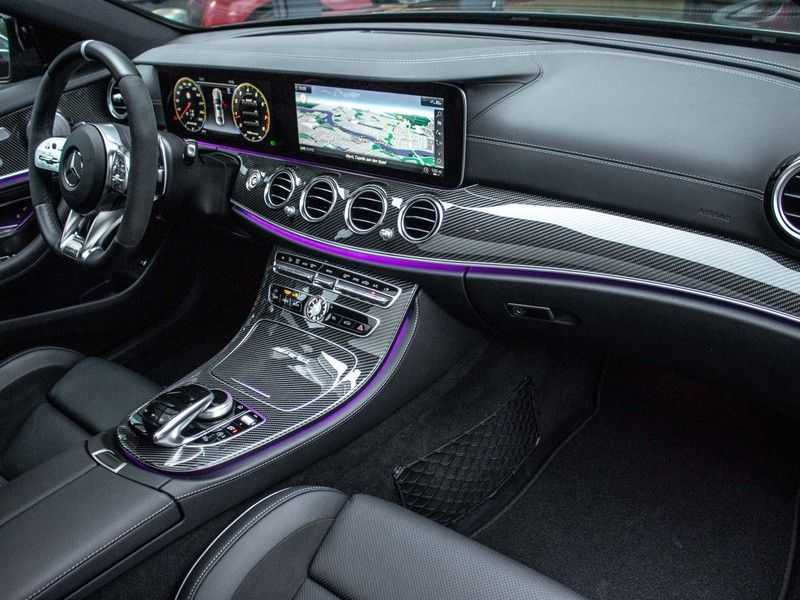 Mercedes-Benz E63 S E-klasse Burmester AMG-Performance-stoelen 63 S AMG 4Matic Premium Plus afbeelding 3