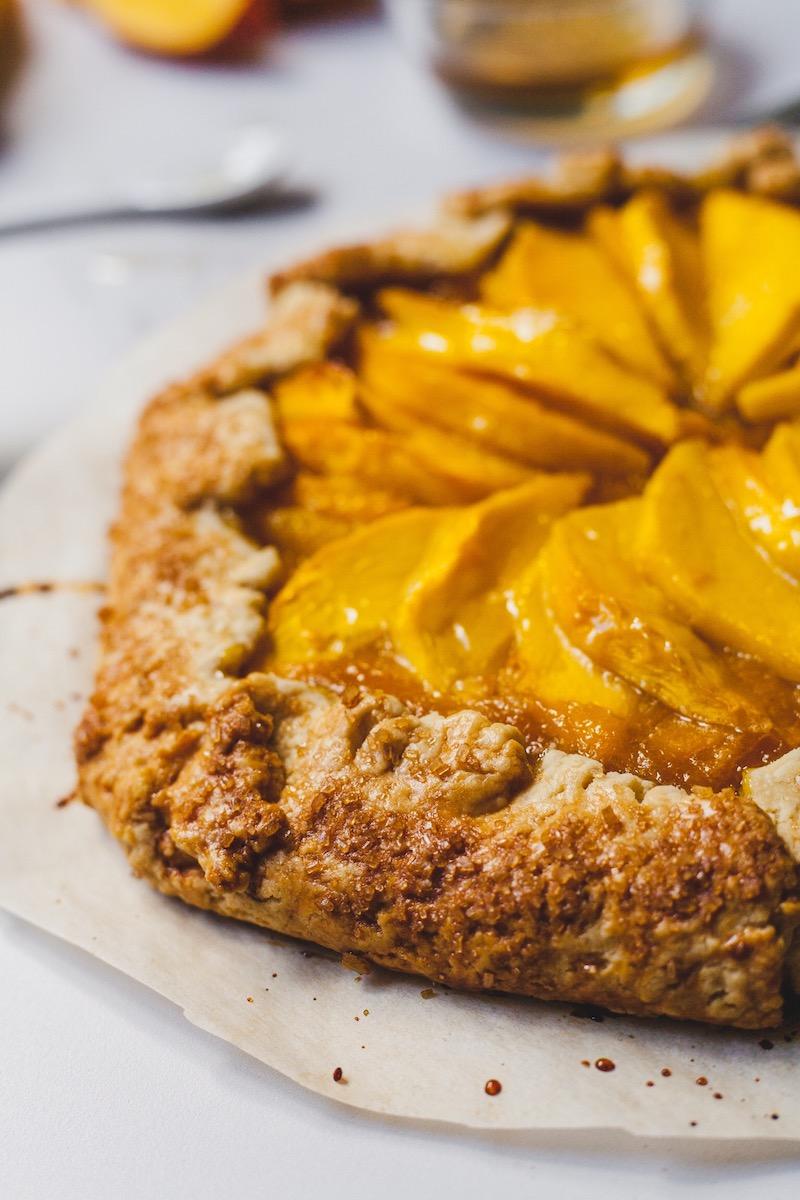 Mango Ginger Galette
