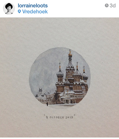 instagram — lorraineloots {365 Paintings for Ants}
