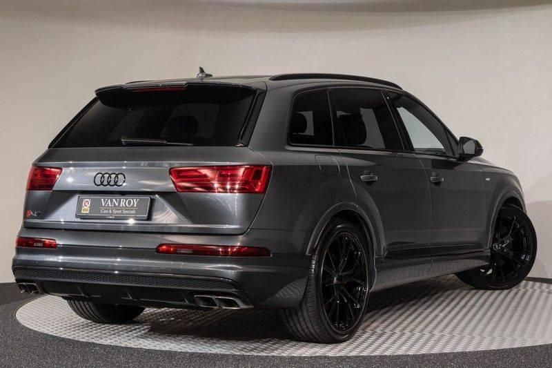 "Audi SQ7 4.0 TDI V8 Quattro 435pk 7 Pers. Panoramadak BlackOptic B&O NightVision Luchtvering ACC ValconaLeder+Memory Matrix Head-Up Navi-High Keyless Trekhaak 22"" Camera Pdc afbeelding 8"