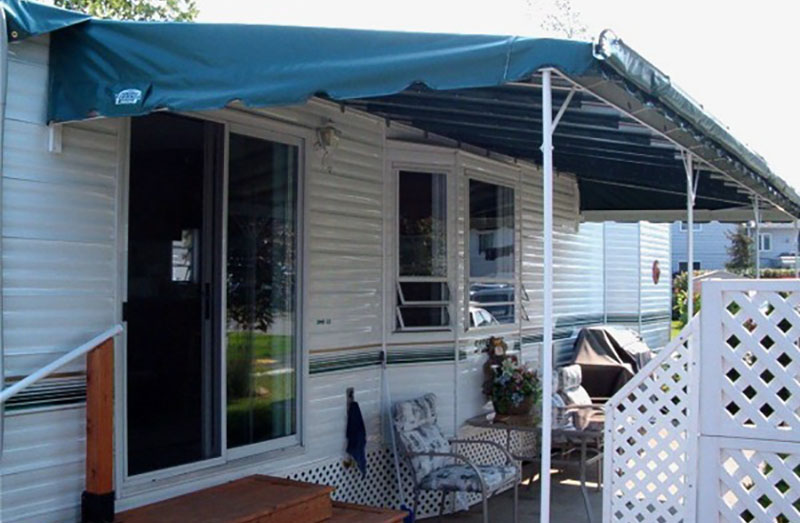 Aluminum And Fabric Window Awnings Awnings In Canada
