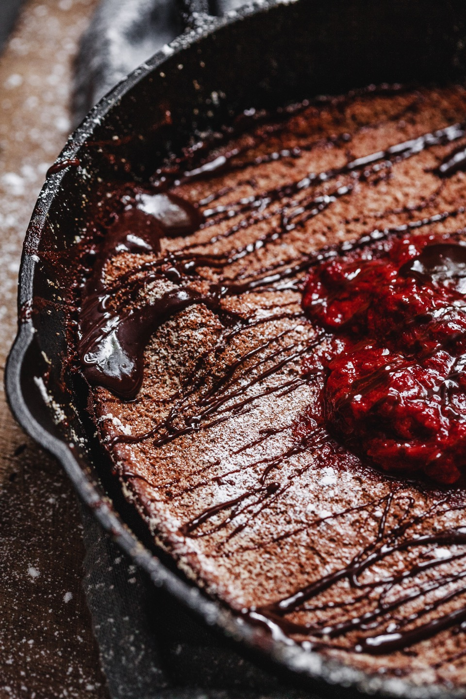 Chocolate Dutch Baby