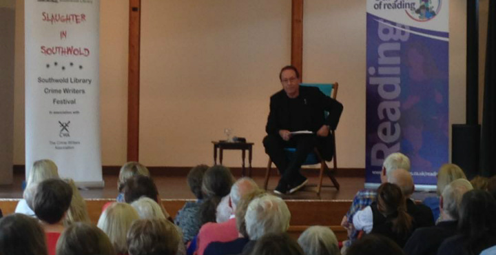 Peter James at Slaughter in Southwold