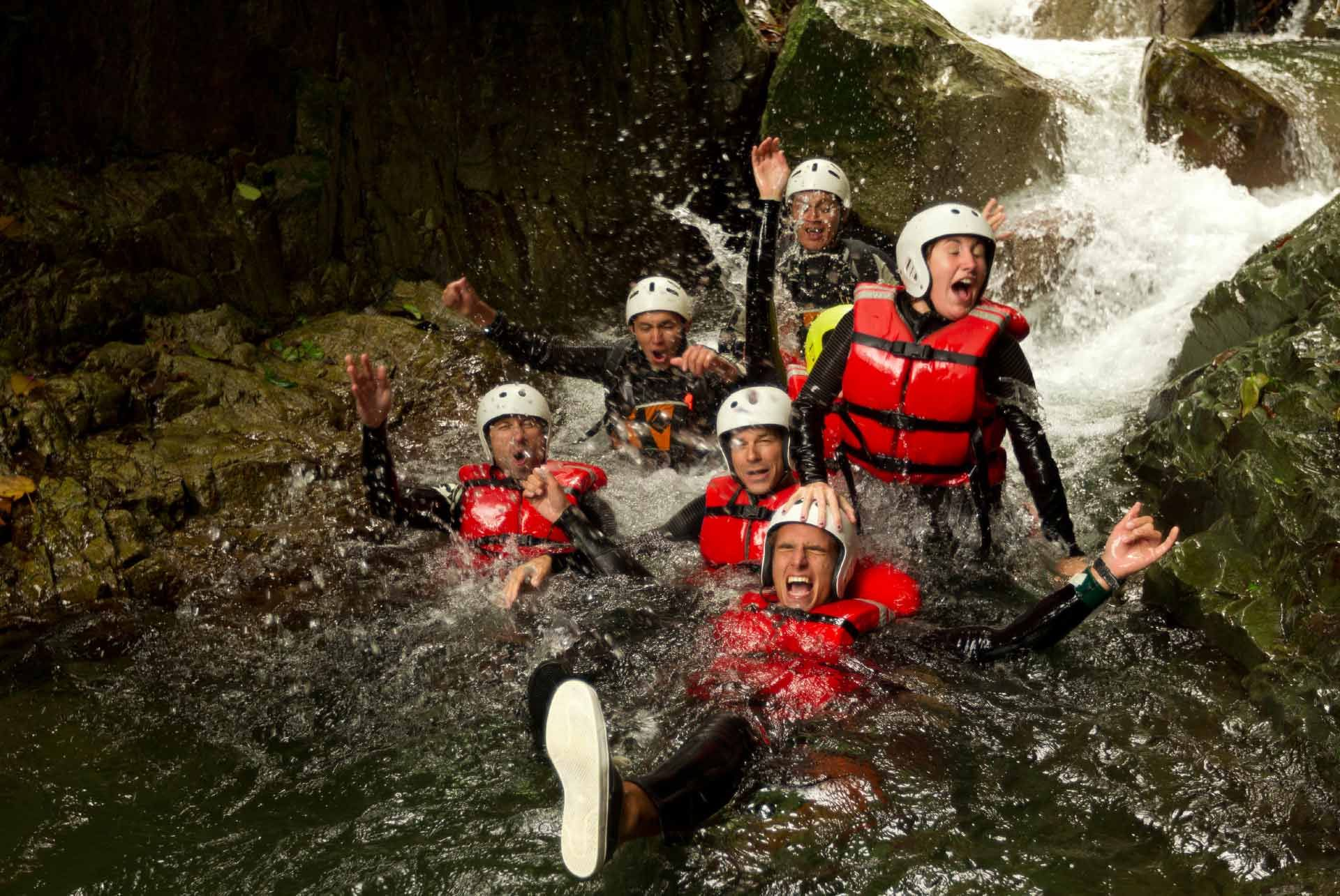 Canyoning Swiss Alps