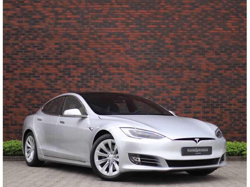 Tesla Model S 75D Base *4% t/m 06-'23*5-persoons*AutoPilot* afbeelding 1