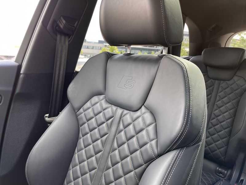 Audi SQ5 3.0TFSI 354pk Quattro Black Optic Lucht HUD Standk B&O Pano Ruitleder Tr.Haak ACC afbeelding 21