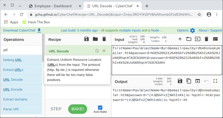 CyberChef URL Decode