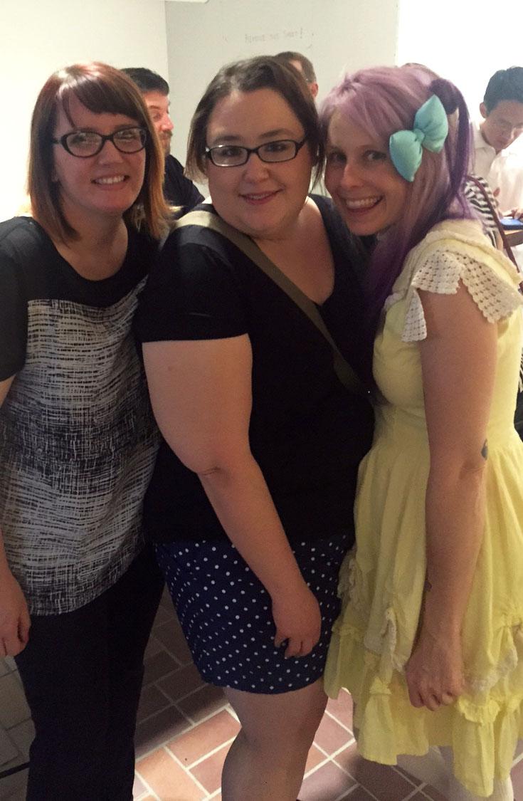 Nicole and Lulu and me!