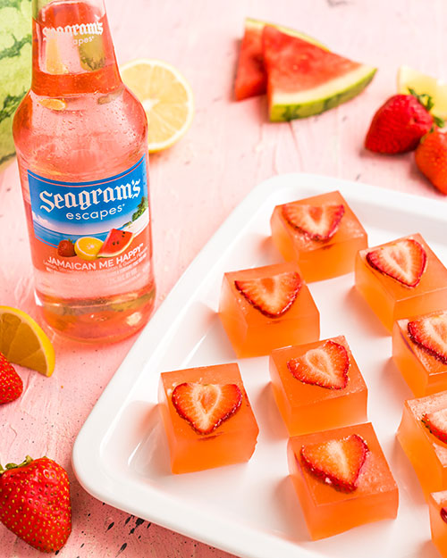 Strawberry Guava Jelly Shots Photo
