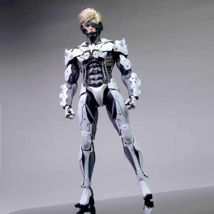 「Cola Repaint」Metal Gear Raiden White Version