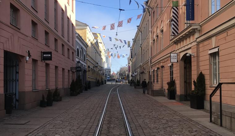 Streets of Helsinki