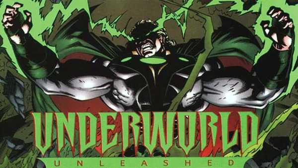Neron aparece em A Vingança do Submundo da DC Comics