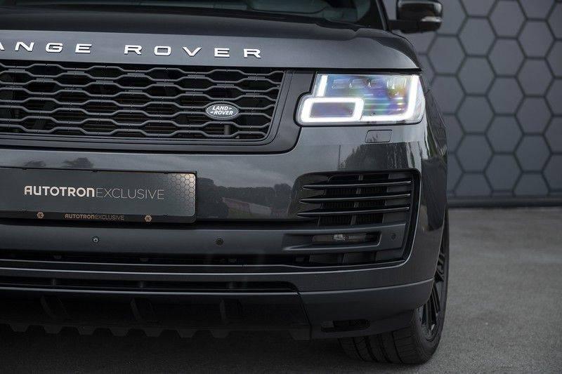 "Land Rover Range Rover 5.0 V8 SC VOGUE Black Pack Elek. Trekhaak, Head-up, 22"", Stoelverkoeling, afbeelding 11"