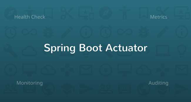 Spring Boot Actuator: Health check, Auditing, Metrics gathering and Monitoring