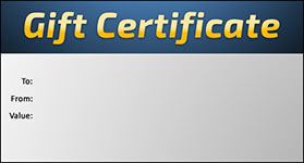 Gift Certificate Template Business 08