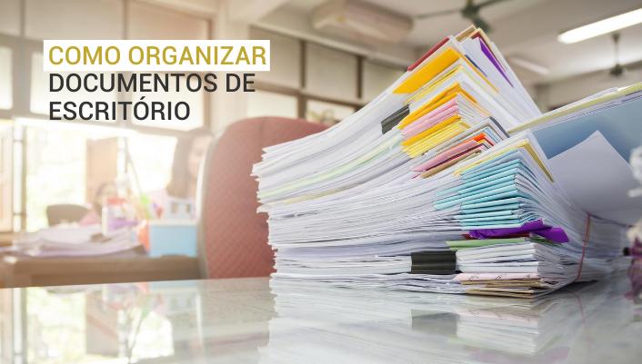 Imagem em destaque para o artigo:  10 passos para organizar documentos de escritório