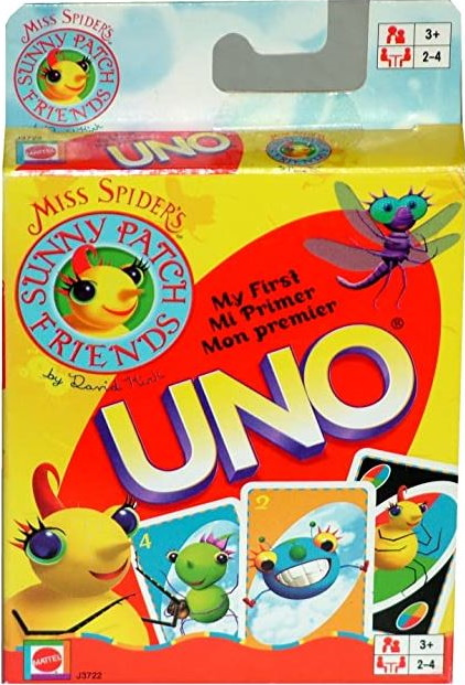 Miss Spider's Sunny Patch Friends My First Uno