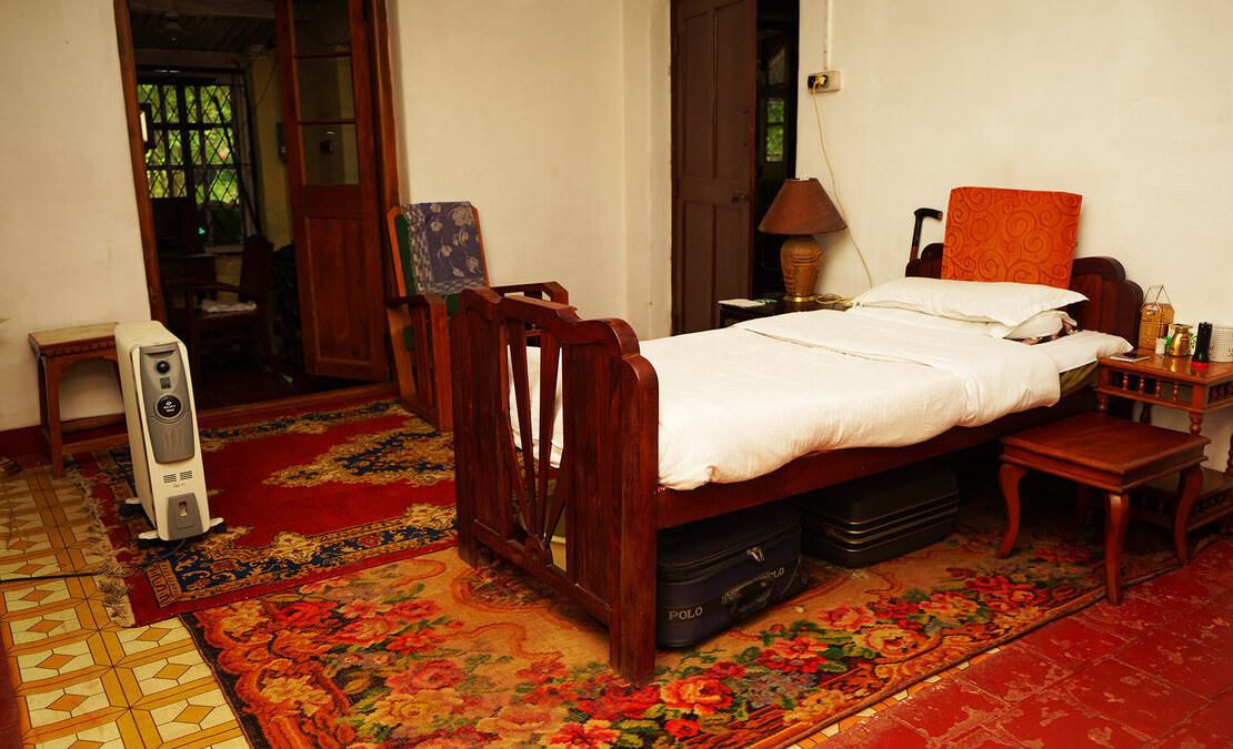 Typical style British Colonial bedroom room