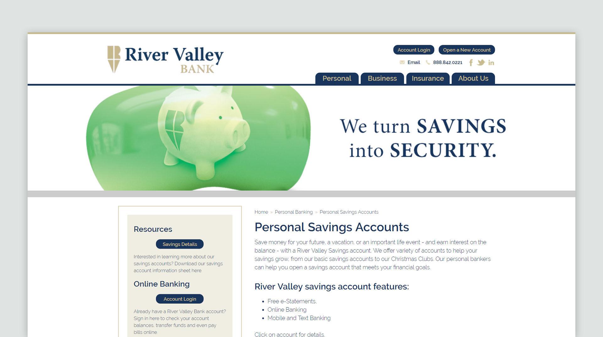 RVB 50th Website
