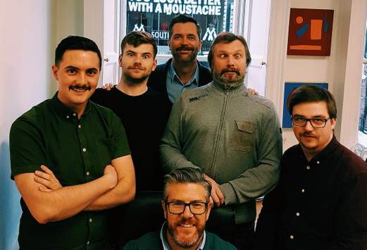 male promozoo staff mustaches