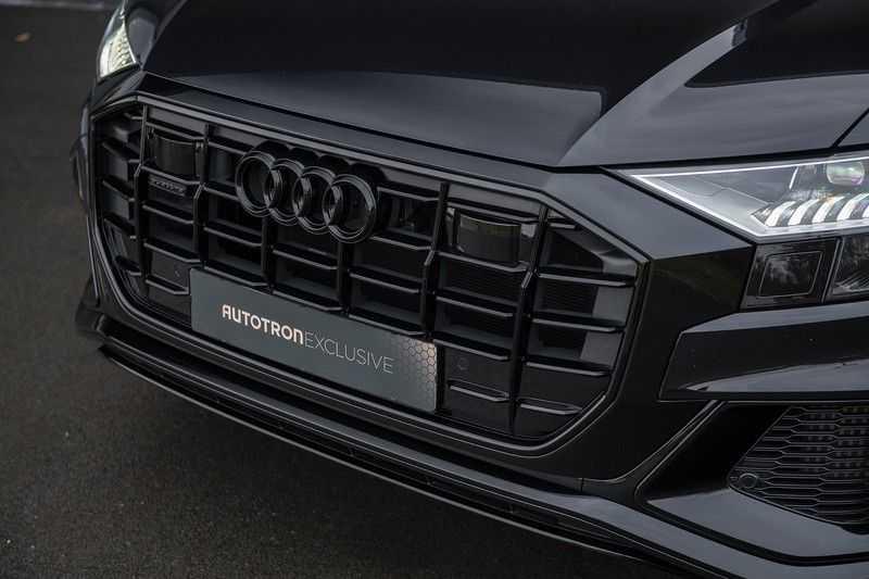 Audi Q8 55 TFSI quattro Pro Line S 3x S-Line! Black pack, 4-wiel-best. / Massage, Verw. & Koelb. stoelen, Bang & Olufsen 3D + Elek.Haak + Ambiente verlichting afbeelding 9