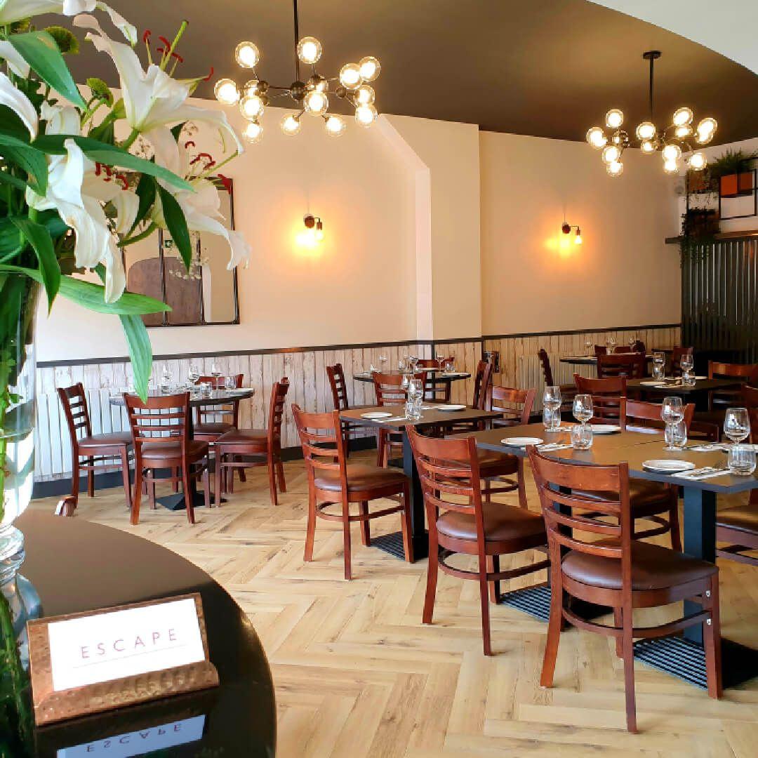Escape Restaurant Horsforth Dining Area