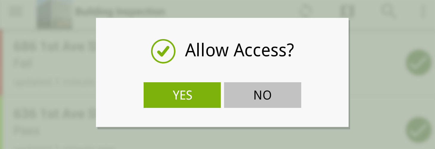 Automated UI Testing and Fulcrum Android Permissions
