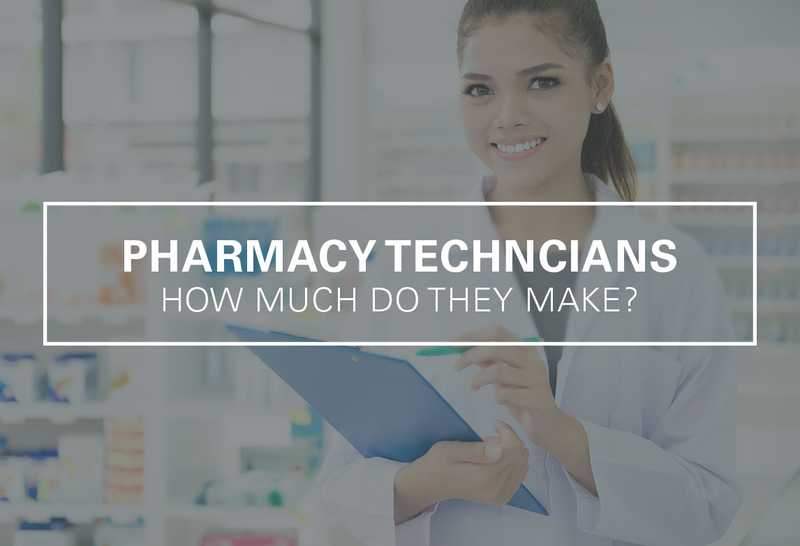 How Much Does a Pharmacy Technician Make Per Year?